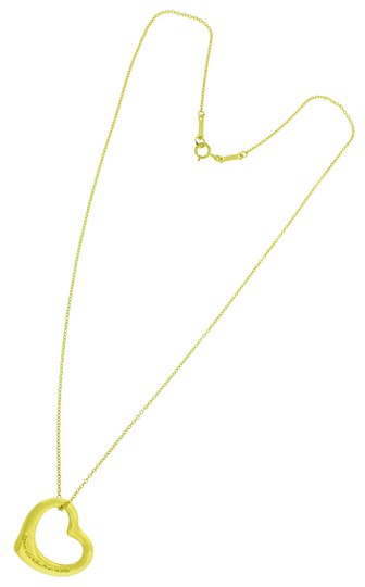 Preload https://img-static.tradesy.com/item/24499278/tiffany-and-co-yellow-gold-co-elsa-peretti-small-open-heart-necklace-in-18k-0-2-540-540.jpg