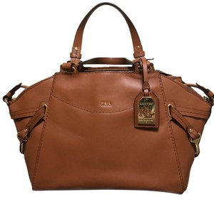 Ralph Lauren Collection Satchel in Cognac