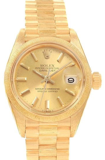 Rolex Rolex Datejust President 26 Yellow Gold Ladies Watch 6927