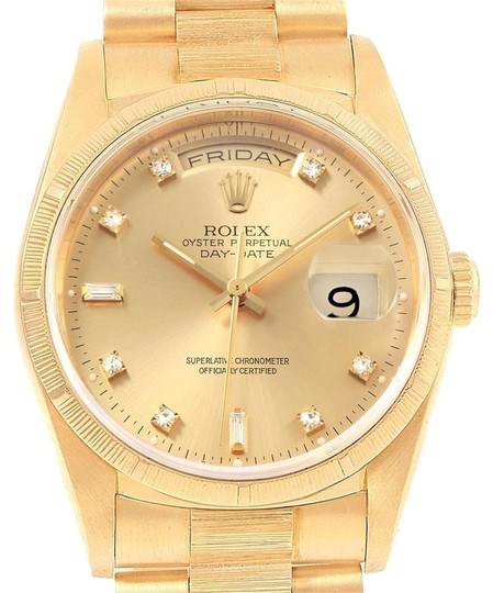 Preload https://img-static.tradesy.com/item/24499421/rolex-champagne-president-day-date-yellow-gold-bark-diamond-dial-mens-18248-watch-0-1-540-540.jpg