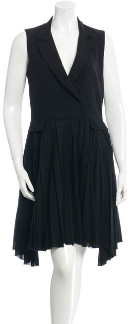 Preload https://img-static.tradesy.com/item/24499528/band-of-outsiders-black-boy-by-wool-collared-mid-length-cocktail-dress-size-8-m-0-1-650-650.jpg