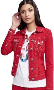 b9068ad51 Women's True Religion Mid-Length Denim Jackets - Up to 90% off at ...