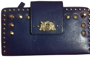 Juicy Couture Juicy Couture blue studded wallet