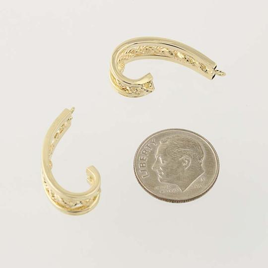 Michael Anthony Michael Anthony J-Hook Earring Enhancers - 14k Yellow Gold N3171