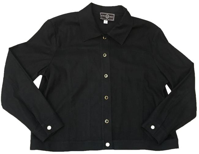 Preload https://img-static.tradesy.com/item/24499609/st-john-black-and-gold-lightweight-jacket-size-12-l-0-1-650-650.jpg