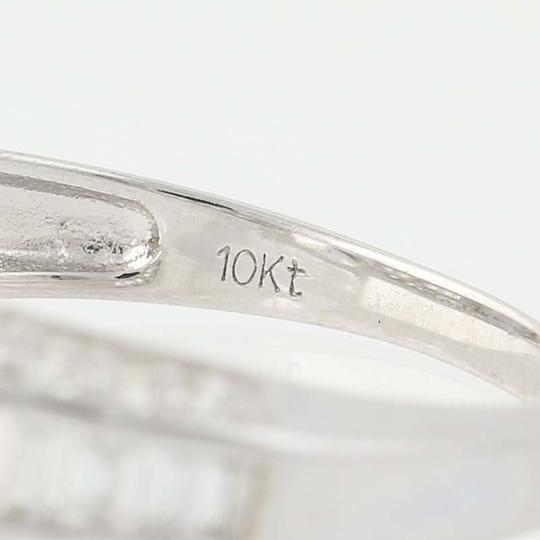 Other NEW Cubic Zirconia Ring - 10k White Gold Solitaire N8072