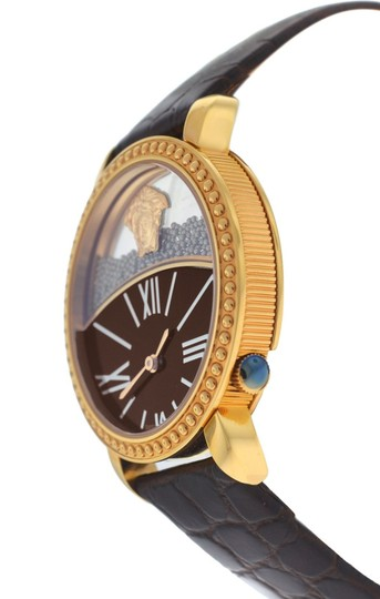 Versace New Versace Krios 93Q80BD598 S497 Floating Spheres Gold Tone 38MM