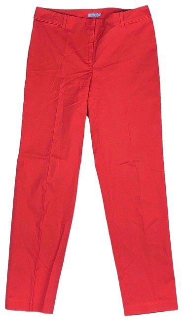 Preload https://img-static.tradesy.com/item/24499706/jmclaughlin-red-coral-slim-ankle-women-pants-size-4-s-27-0-1-650-650.jpg
