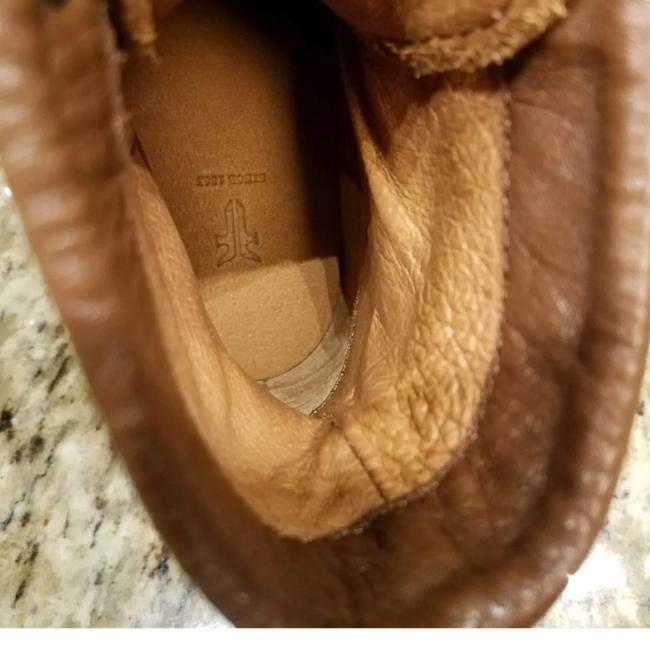 Frye Cognac New Tyler Lace Up Leather Boots/Booties Size US 7 Regular (M, B) Frye Cognac New Tyler Lace Up Leather Boots/Booties Size US 7 Regular (M, B) Image 2