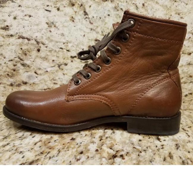 Frye Cognac New Tyler Lace Up Leather Boots/Booties Size US 7 Regular (M, B) Frye Cognac New Tyler Lace Up Leather Boots/Booties Size US 7 Regular (M, B) Image 3