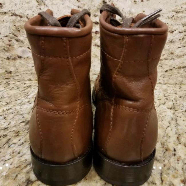 Frye Cognac New Tyler Lace Up Leather Boots/Booties Size US 7 Regular (M, B) Frye Cognac New Tyler Lace Up Leather Boots/Booties Size US 7 Regular (M, B) Image 4