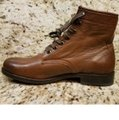 Frye Cognac New Tyler Lace Up Leather Boots/Booties Size US 7 Regular (M, B) Frye Cognac New Tyler Lace Up Leather Boots/Booties Size US 7 Regular (M, B) Image 6