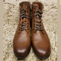 Frye Cognac New Tyler Lace Up Leather Boots/Booties Size US 7 Regular (M, B) Frye Cognac New Tyler Lace Up Leather Boots/Booties Size US 7 Regular (M, B) Image 7