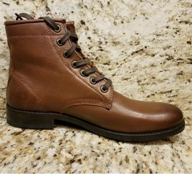 Frye Cognac New Tyler Lace Up Leather Boots/Booties Size US 7 Regular (M, B) Frye Cognac New Tyler Lace Up Leather Boots/Booties Size US 7 Regular (M, B) Image 8