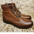 Frye Cognac New Tyler Lace Up Leather Boots/Booties Size US 7 Regular (M, B) Frye Cognac New Tyler Lace Up Leather Boots/Booties Size US 7 Regular (M, B) Image 9
