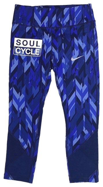 Preload https://img-static.tradesy.com/item/24499758/nike-blue-athletic-capri-dri-fit-women-s-stretch-soul-cycle-activewear-bottoms-size-4-s-27-0-1-650-650.jpg