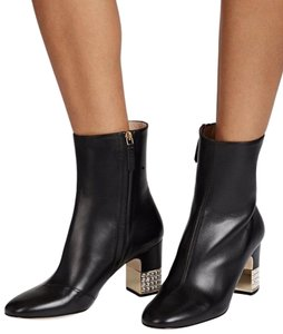 Gucci Lambskin Leather Crystal black Boots