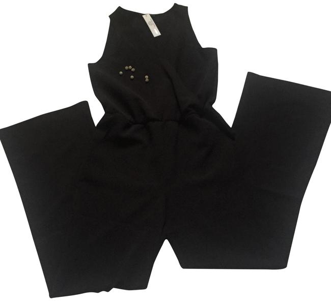 Preload https://img-static.tradesy.com/item/24499781/anthropologie-black-drew-romperjumpsuit-0-1-650-650.jpg
