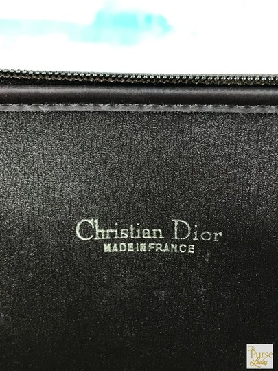 Dior Brown Trotter Canvas Cosmetic Pouch