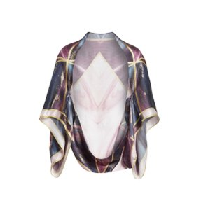 Ted Baker Pure Silk Balmoral Marble Cape