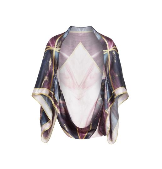 Preload https://img-static.tradesy.com/item/24499806/ted-baker-pure-silk-balmoral-marble-cape-scarfwrap-0-0-540-540.jpg