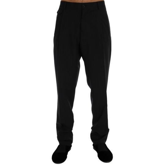 Preload https://img-static.tradesy.com/item/24499846/dolce-and-gabbana-black-striped-d60320-1-wool-stretch-pants-it-52-xl-groomsman-gift-0-0-540-540.jpg