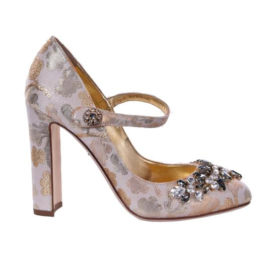 Preload https://img-static.tradesy.com/item/24499856/dolce-and-gabbana-dolce-and-gabbana-lurex-crystals-vally-gold-pumps-size-us-9-regular-m-b-0-0-540-540.jpg