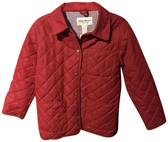 Preload https://img-static.tradesy.com/item/24499886/eddie-bauer-red-quilted-and-insulated-coat-size-2-xs-0-1-650-650.jpg