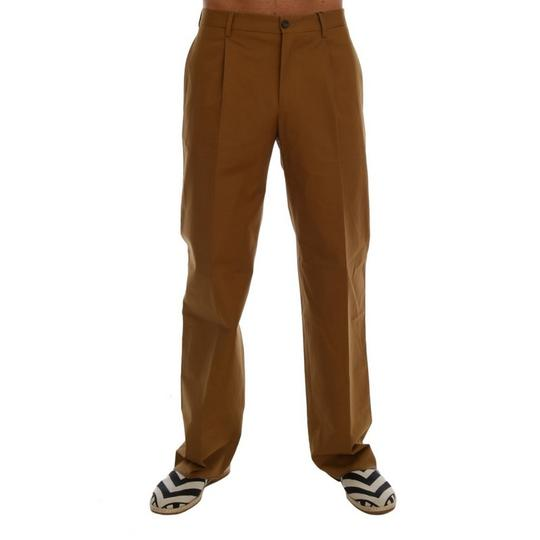 Preload https://img-static.tradesy.com/item/24499897/dolce-and-gabbana-brown-d60763-3-stretch-cotton-pants-it-48-m-groomsman-gift-0-0-540-540.jpg
