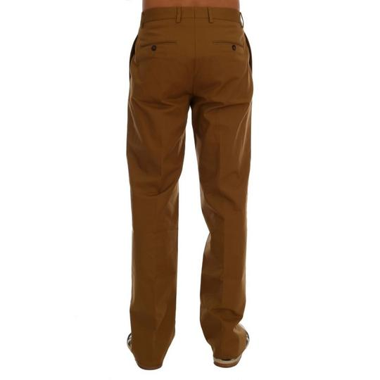 Dolce&Gabbana Brown D60763-3 Stretch Cotton Pants (It 48 / M ) Groomsman Gift