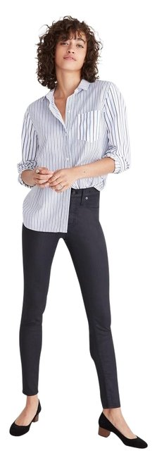 Preload https://img-static.tradesy.com/item/24499987/madewell-black-coated-9-high-rise-edition-skinny-jeans-size-30-6-m-0-2-650-650.jpg