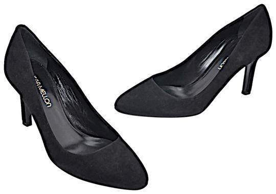 Preload https://img-static.tradesy.com/item/24499988/tamara-mellon-black-suede-heaven-suede-pumps-size-eu-37-approx-us-7-regular-m-b-0-1-540-540.jpg