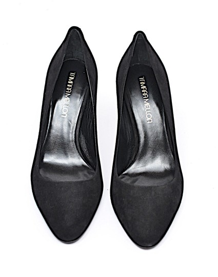 Tamara Mellon Suede Suede Heaven Suede Black Pumps