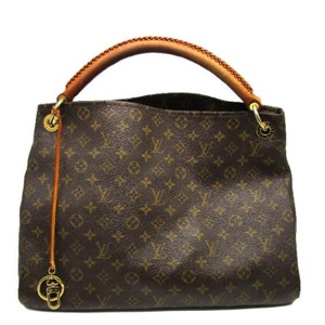 Louis Vuitton Canvas Artsy Mm Hobo Bag