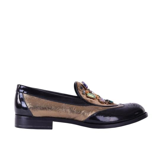 Preload https://img-static.tradesy.com/item/24499995/dolce-and-gabbana-dolce-and-gabbana-loafer-boy-with-crystals-black-flats-size-us-9-regular-m-b-0-0-540-540.jpg