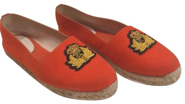 Item - Orange/Flame Galia Olona Fabric/Rope Flats Size EU 41 (Approx. US 11) Regular (M, B)
