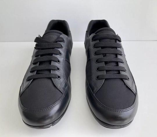 a67aa49962ba ... top sneaker 30e90 f88d0  purchase prada mens sneakers fashion nylon  black athletic 4adde 4ded4