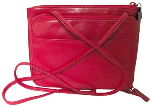 Perlina Leather Organizer Casual Cross Body Bag