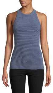 C/meo Collective Blue Halter Top