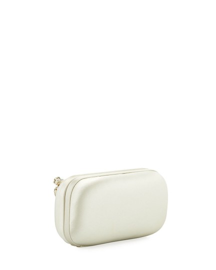 Badgley Mischka Bridal Wedding ivory Clutch Image 1