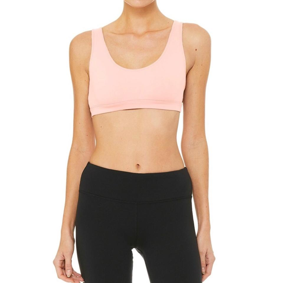 e04aff5f1c Alo Powder Pink Yoga Ambient Activewear Sports Bra Size 8 (M) - Tradesy