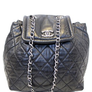 Chanel Backpack · Chanel. Backpack Beijing 2 In 1 Black Quilted Leather  Backpack 82bd12e2dcadd