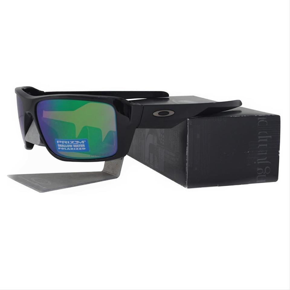 7d7a25bbc36 Oakley Double Edge Polished Black Frame   Prizm Shallow Water ...