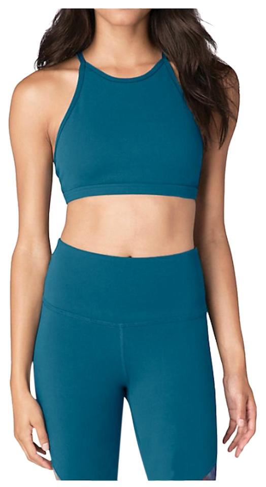 b9a7f9c0e8 Beyond Yoga Saphire Blue Opening Night Activewear Sports Bra Size 8 ...