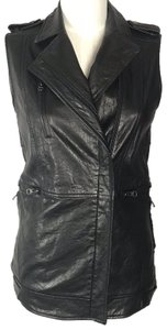 Truth and Pride Leather Motorcycle Leather Multi Pocket Vest