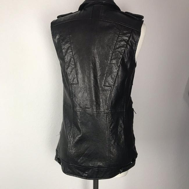 Truth and Pride Leather Motorcycle Leather Multi Pocket Vest Image 1