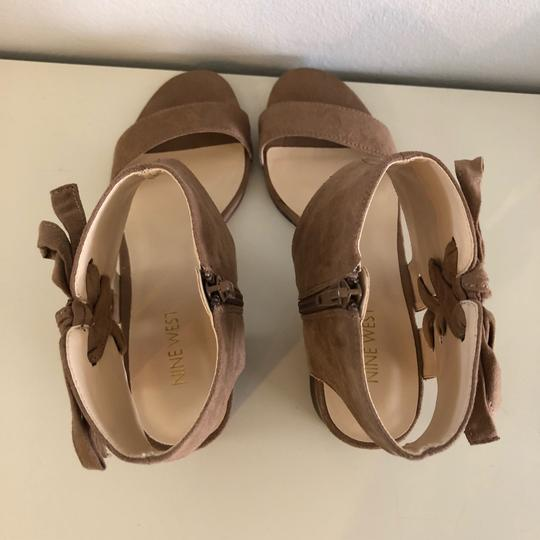 Nine West Taupe Sandals Image 5