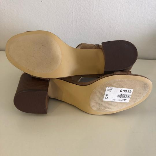 Nine West Taupe Sandals Image 7