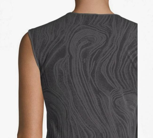 Wolford Clothing Summer Stretchy Marble Top Black/Dark Gray Image 2