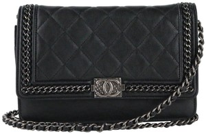Chanel Woc Woc Boy Chain Around Boy Woc Cross Body Bag